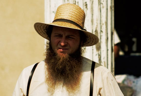 Here S Why Amish Men Have Beards But Shave Their Moustaches