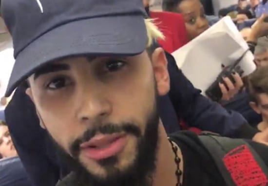 Guy Claims He Was Kicked Off Plane For Speaking Arabic To His Mum