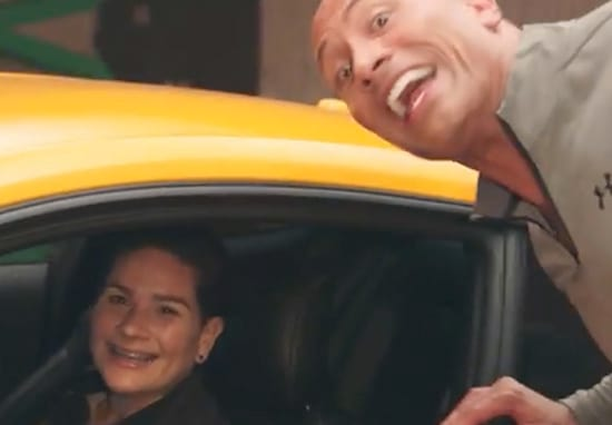 The Rock Surprises Army Veteran With Brand New Mustang