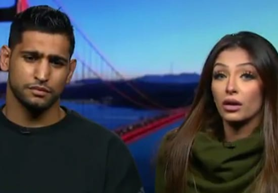 Amir Khan And Faryal Makhdoom Reveal Who Leaked His Sex Tape