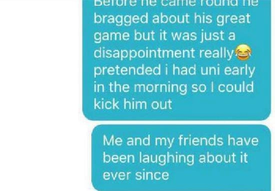 Girl Trolls Guy On Tinder After He Forgot They'd Already Slept Together