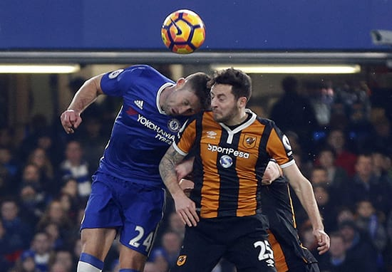 Vile Trolls Abuse Gary Cahill On Twitter After Head Clash With Ryan Mason