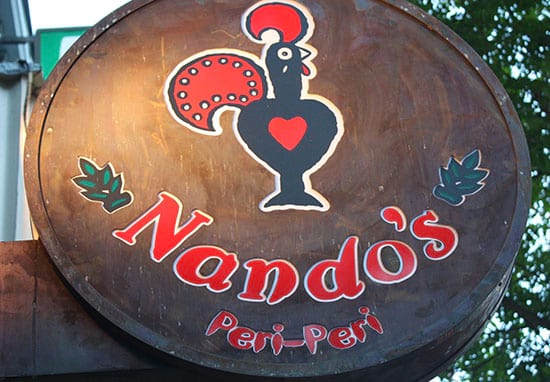 Nandos Closes Because They've Run Out Of Chicken