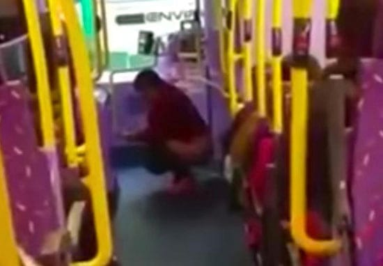 Woman Does Poo On A Bus Because She Had Nowhere Else To Go