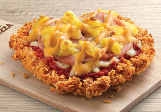 KFC's New Fried Chicken-Based Pizza Hasn't Lived Up To Expectation