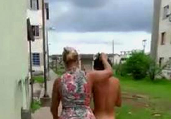 Furious Wife Marches Naked Woman Through Streets After Catching Her In Bed With Husband
