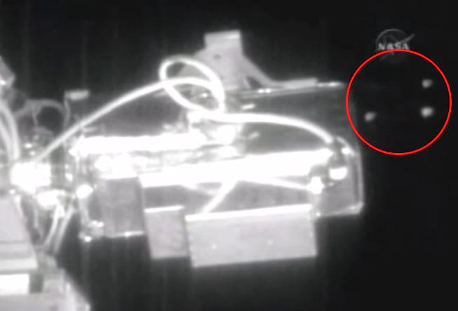 674 NASA1 NASA Live Feed Cuts As Six UFOs Fly By International Space Station