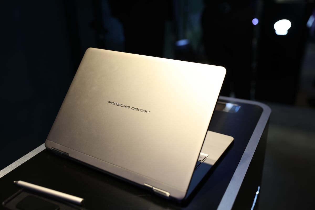 Porsche Design Book One Laptop A Combination Of Power
