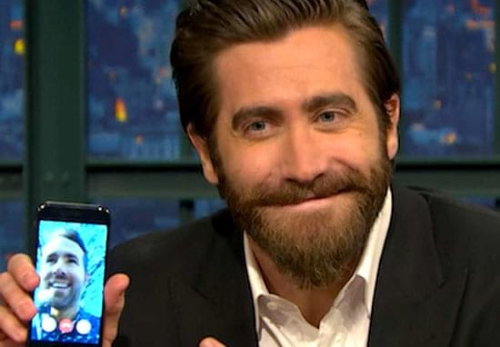 Jake Gyllenhaal Facetimed Ryan Reynolds On TV And It Was Awesome