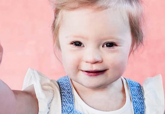 Two-Year-Old With Down's Syndrome Lands Huge Modelling Contract