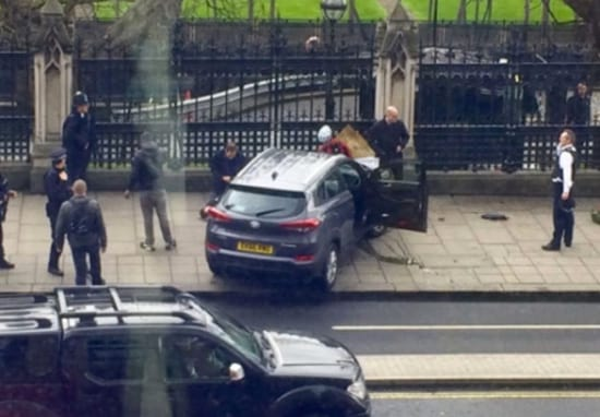 Four Dead In 'Terrorist Incident' Outside Houses Of Parliament