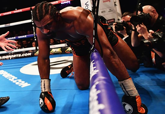 Picture Of David Haye's Ruptured Achilles Is Absolutely Horrific