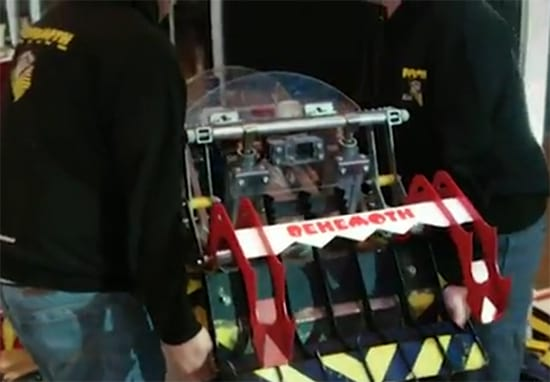 Man Storms Off Robot Wars After Losing To Children