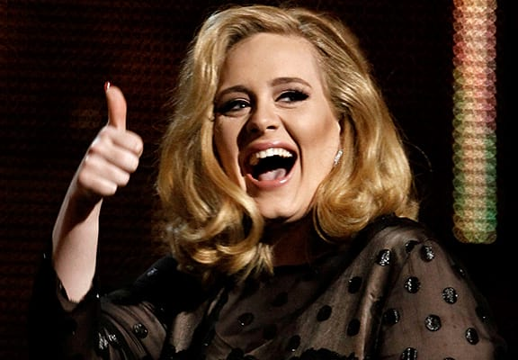 The Weird Reason Adele Hides In A Box At Every Gig