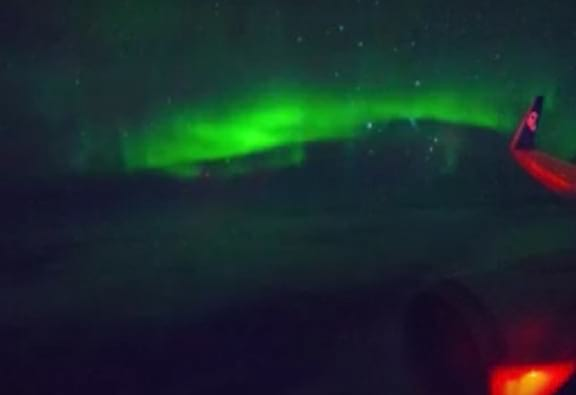 Incredible Video Shows What It's Like To Fly Through Auroras