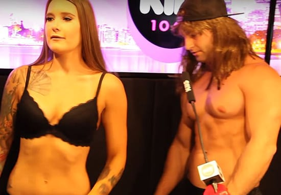 Naked Dating Radio Show Takes Awkward Turn For The Worse