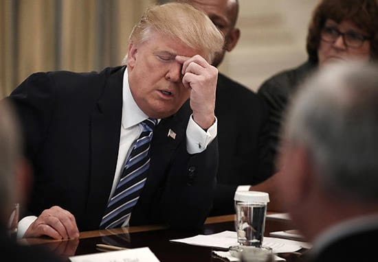 Donald Trump Does Something Really F*cking Annoying Every Time He Sits Down