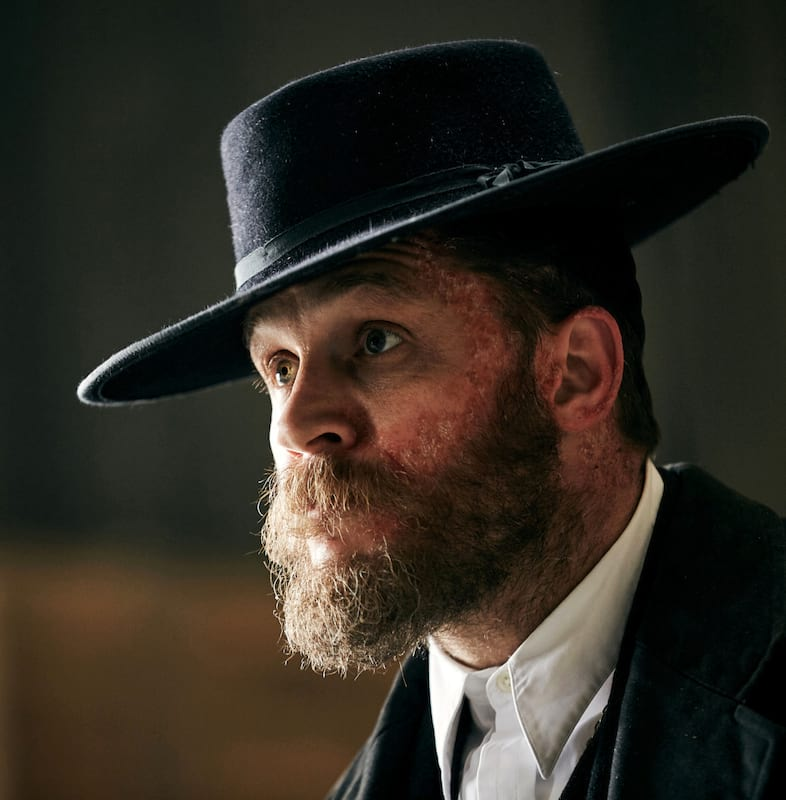 Tom Hardy Spotted On Set Of Peaky Blinders In Liverpool