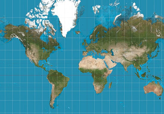 The Map Of The World Is Changing To Correct Ridiculous Error