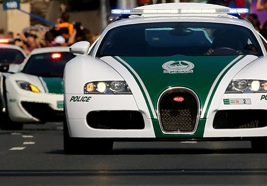 Dubai's New Bugatti Veyron Police Car Can Reach 253mph