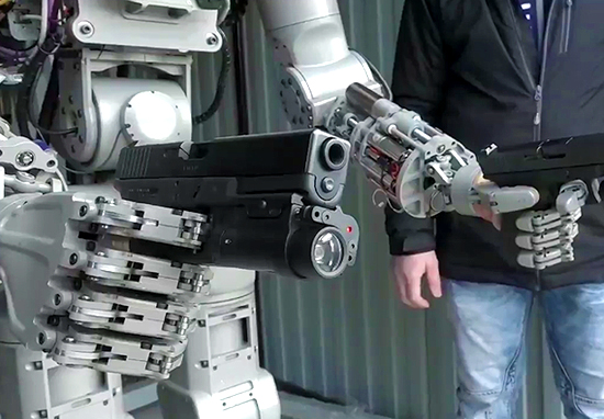 Russia Has Just Unveiled A Terrifying Terminator-Style Killer Robot