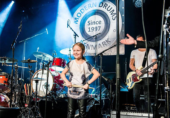 10-Year-Old Drummer Wins 'Denmark's Got Talent' With Epic Led Zeppelin Cover