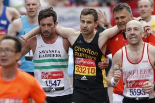 London Marathon Hero Speaks Out After Helping Struggling Runner