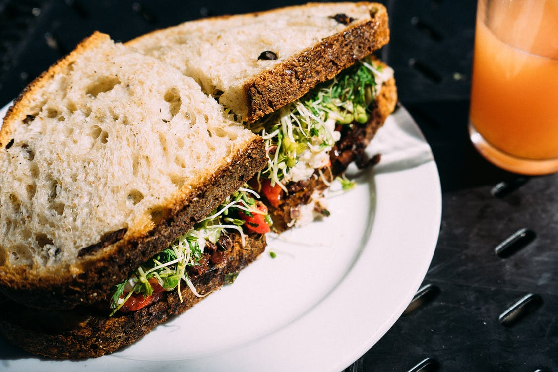 Gluten Free Diets Linked To Increased Risk Of Diabetes bread food salad sandwich