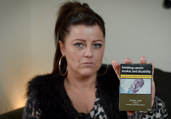 Woman Finds 'Picture Of Her Dying Dad' On Cigarette Packet